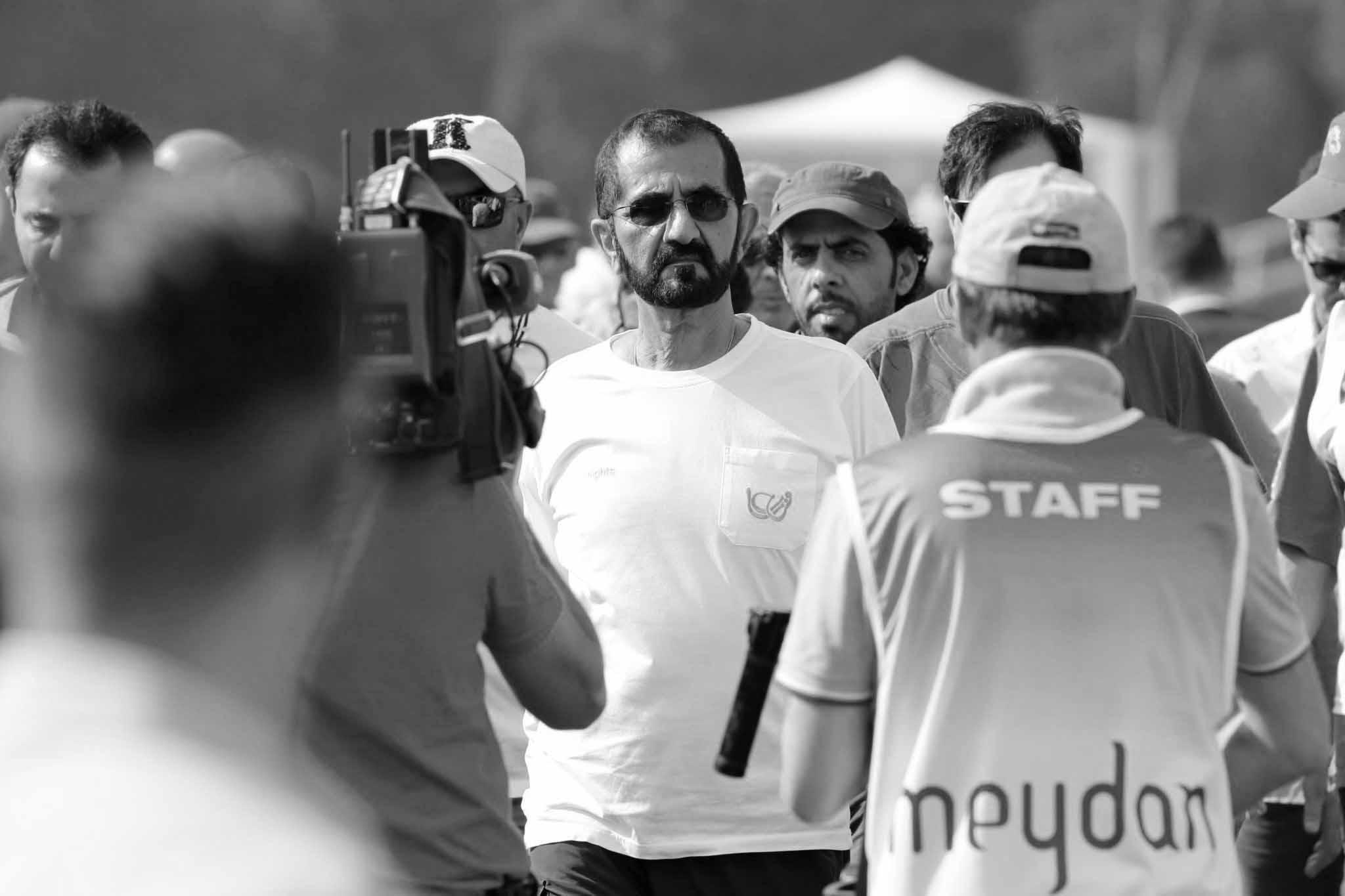 HH Sheikh Mohammed bin Rashid Al Maktoum arrives at San Rossore racecourse - Endurance Lifestyle 2016 - Pisa - San Rossore,23rd july 2016ph.Stefano Grasso/Endurance Lifestyle 2016